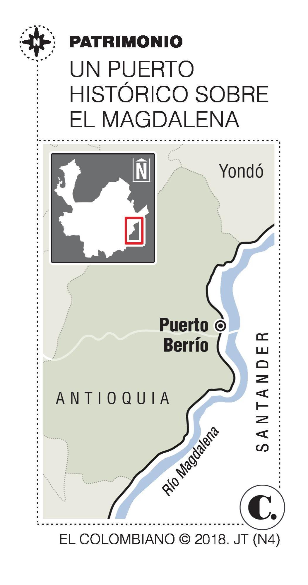 Hotel Magdalena en Puerto Berrío Antioquia