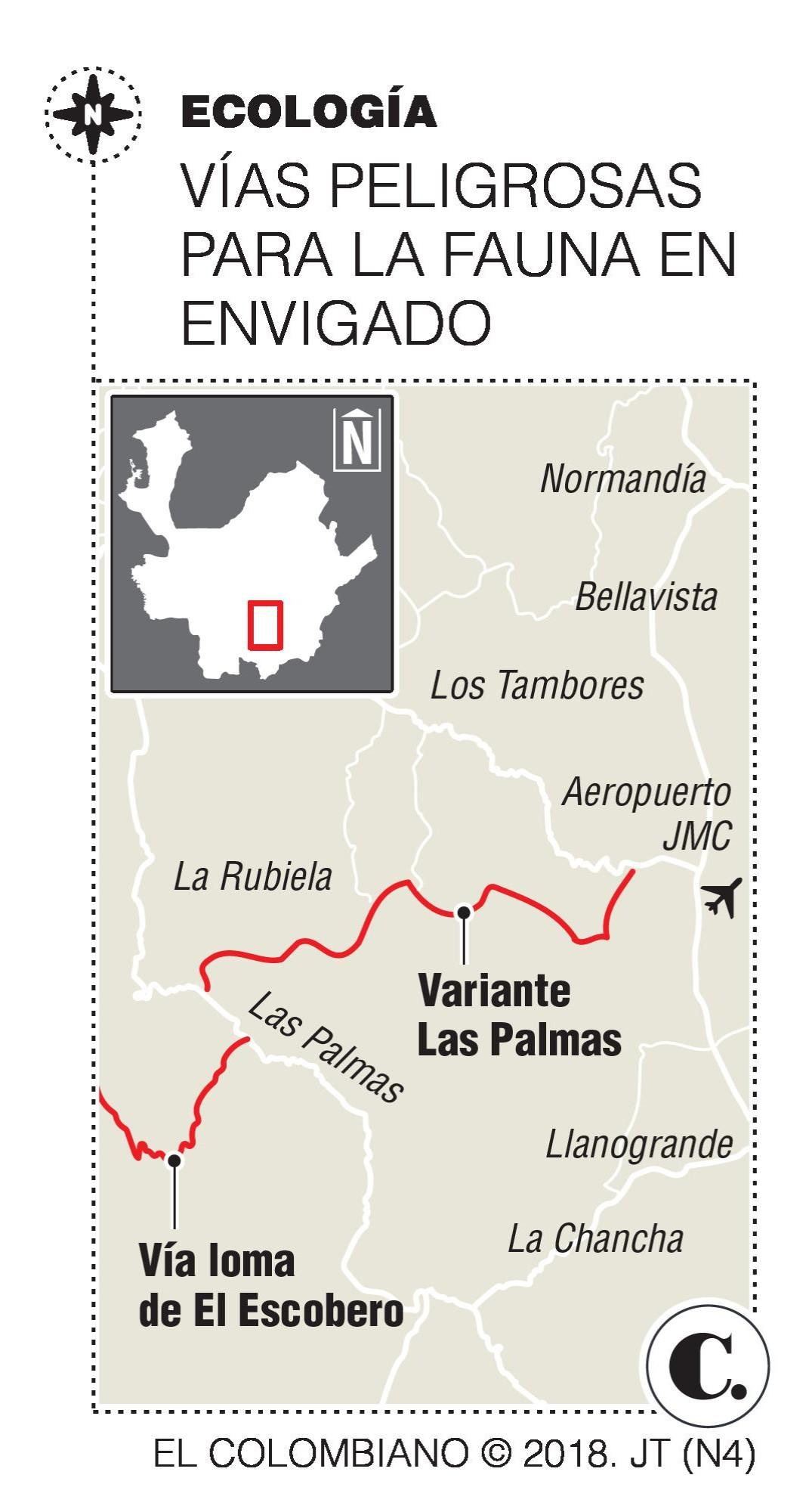 Animales silvestres, más seguros en El Escobero que en Las Palmas