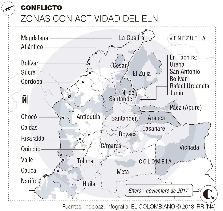 Cabecilla del Eln fue capturado cruzando la frontera con Venezuela