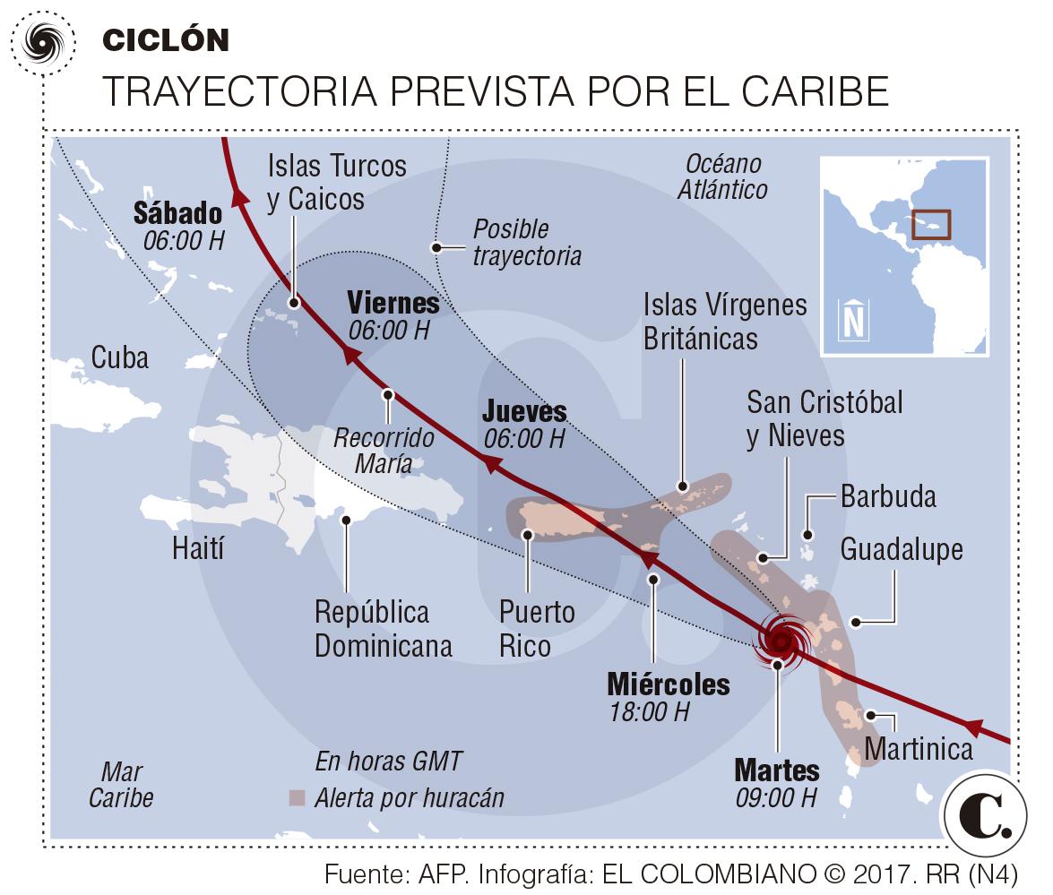 Fallece una persona en República Dominicana por huracán María