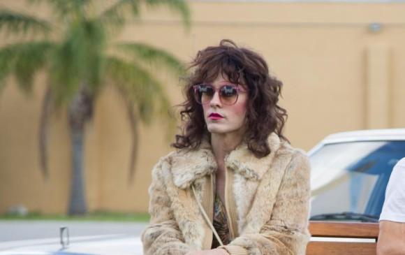 El actor heterosexual Jared Leto en la cinta Dallas Buyer Club hizo de una persona transgénero.