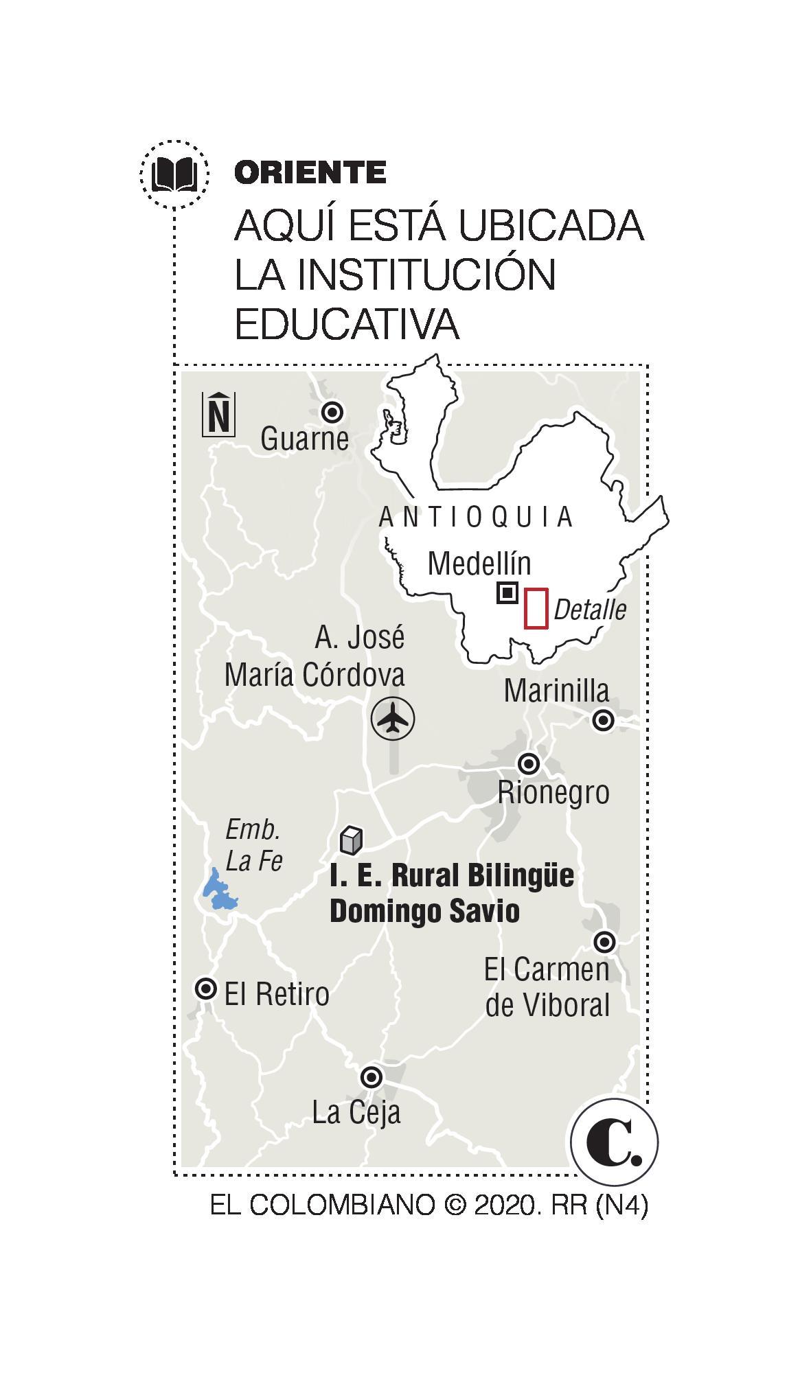 Antioquia cuenta con el primer colegio rural bilingüe en inglés