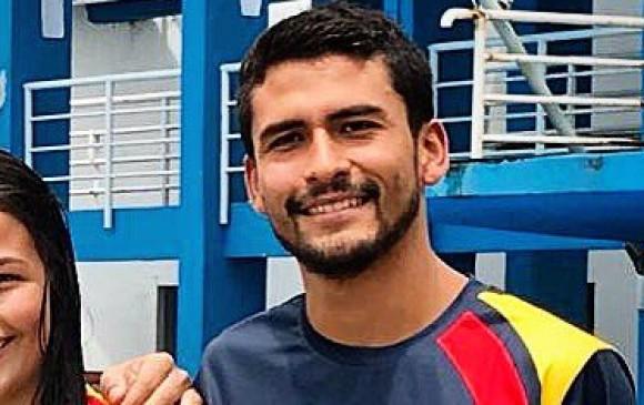Miguel Garcíanadador de altura colombiano