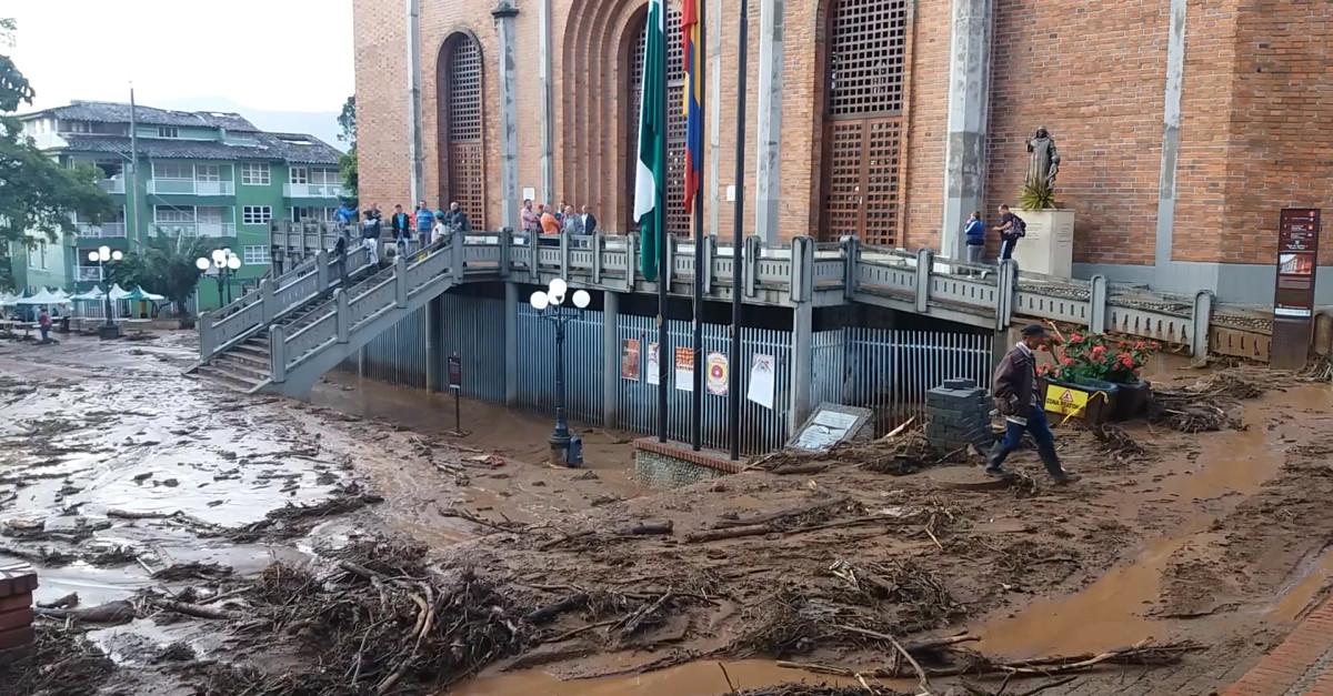 Emergencia en Jericó - El Colombiano