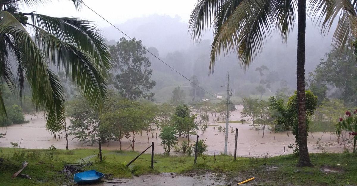 Vigía del Fuerte, al borde de la calamidad por lluvias - El Colombiano