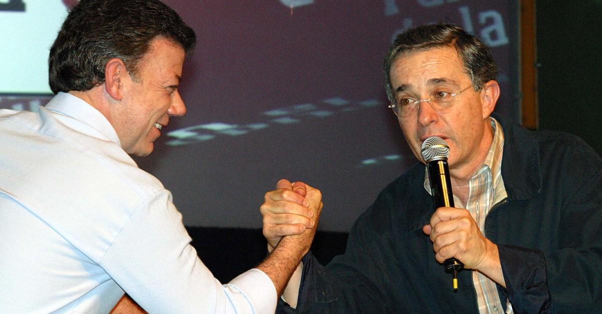 Gobernadores plantean tregua de Uribe-Santos y que se sienten a hablar