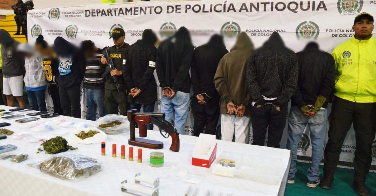 Golpe a la banda que monopolizaba el tráfico de estupefacientes en Guarne - El Colombiano