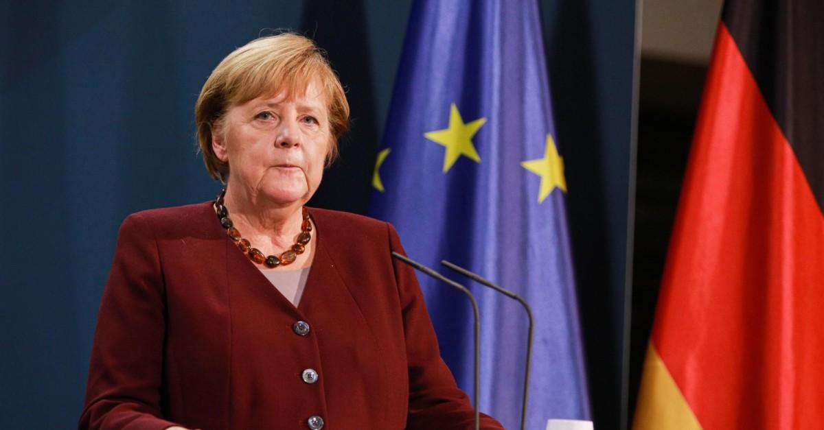 Merkel Wahlplakat 2021