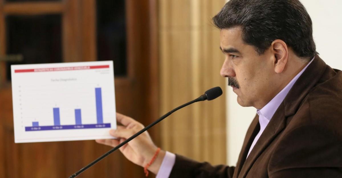 Maduro anuncia cuarentena total en Venezuela