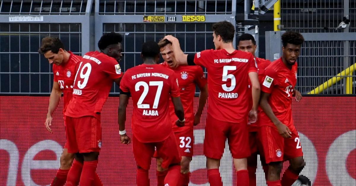 Bayern ganó el clásico de la Bundesliga ante Dortmund