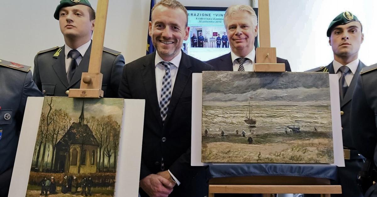 Narco tenía pinturas de Van Gogh robadas hace 14 años