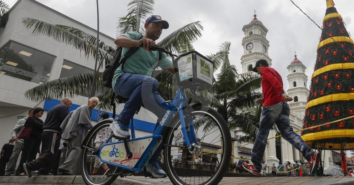 Con ocho estaciones, EnCicla llegó a Envigado - El Colombiano