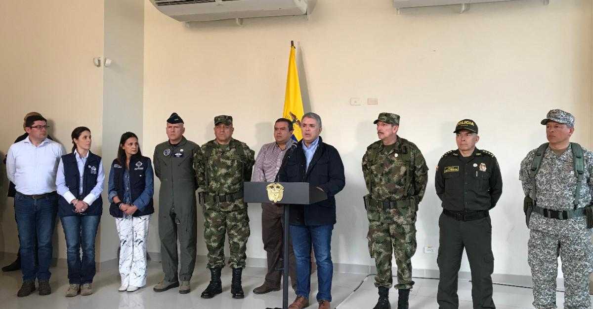 Duque viaja a Popayán en medio de la ola de violencia en el Cauca - El Colombiano