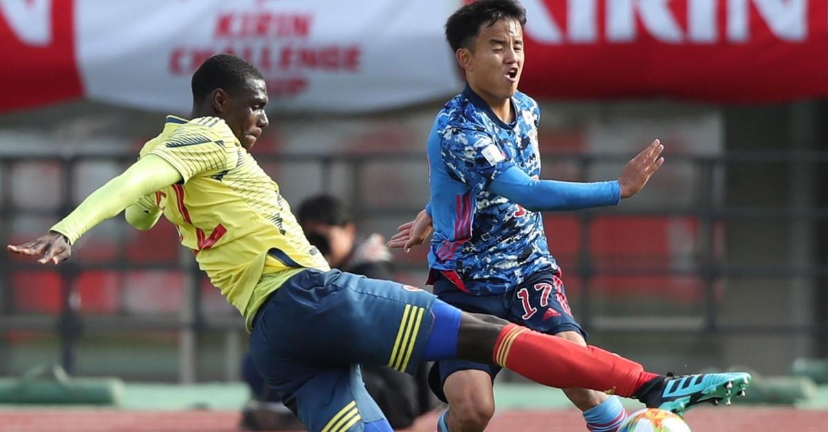 Selección Colombia sub-23 venció a Japón de visitante