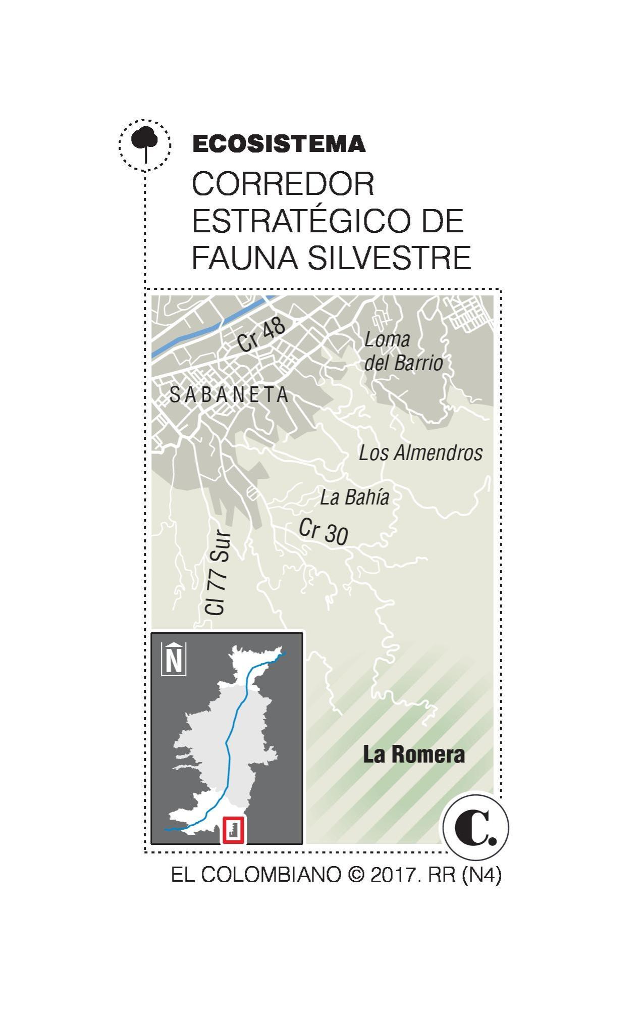 Sabaneta blinda el bosque de La Romera