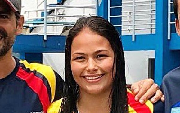María Paula quinteroNadadora colombiana