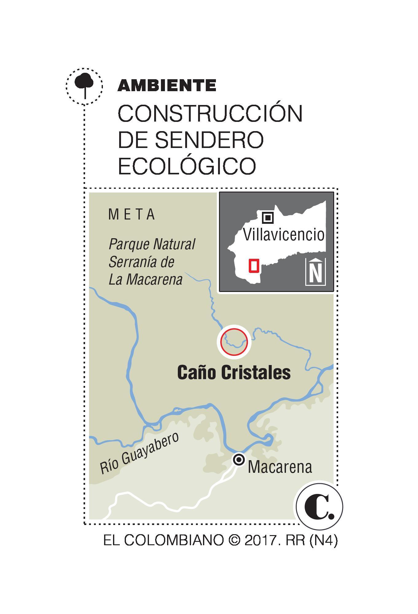 Caño Cristales tendrá sendero y ambientalistas piden protección