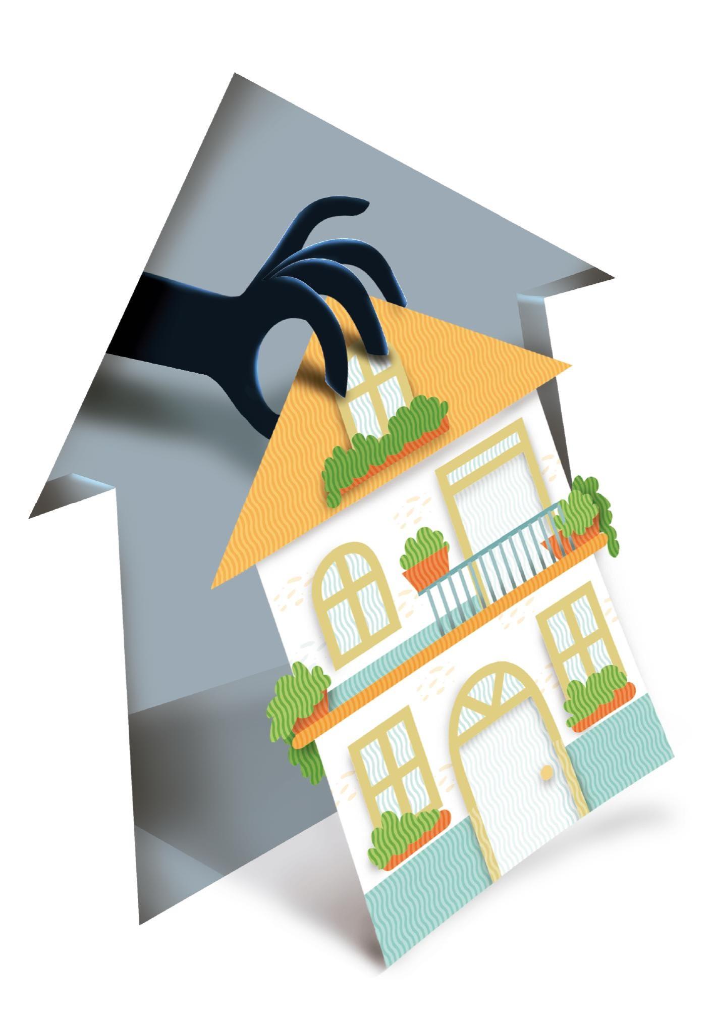 Víctimas de falsas viviendas de interés prioritario