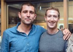 Chris Cox y Mark Zuckerberg. FOTO: @ChrisCox