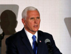 El vicepresidente de Estados Unidos, Mike Pence. FOTO REUTERS