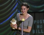 Shailene Woodley recibió varios premios en los MTV Movie Awards. FOTO Reuters