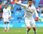 Juego de James en partido Real Madrid vs Levante. Foto: EFE