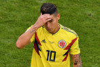 James Rodríguez. Foto: AFP.