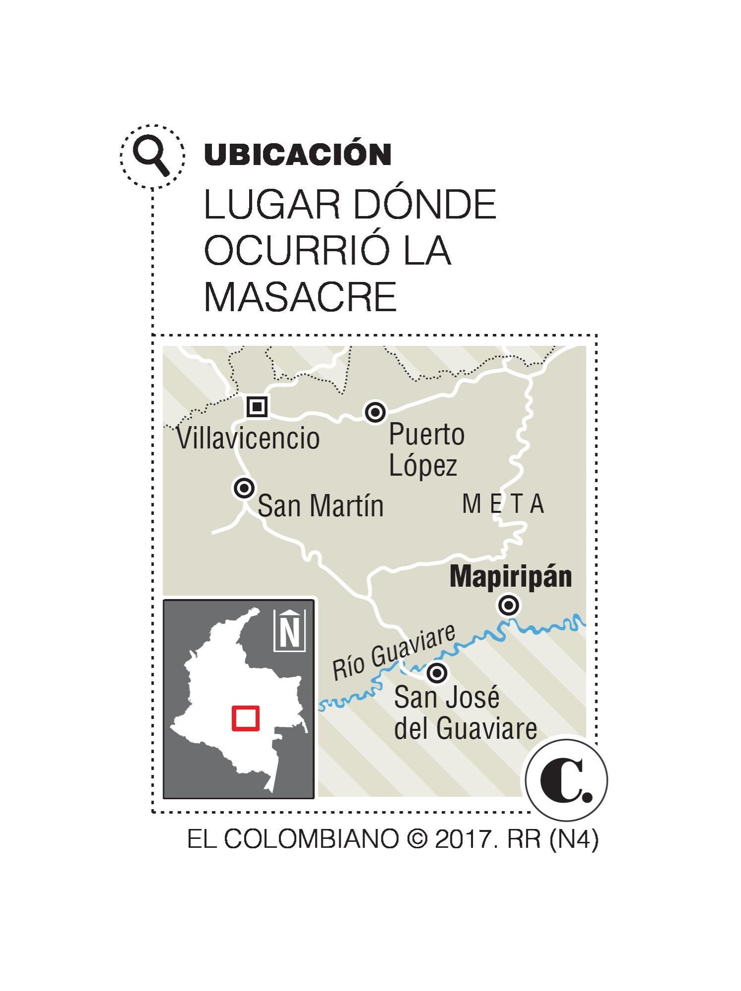 JEP, la esperanza para las víctimas de Mapiripán