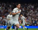 En 10 minutos que le dio Zidane, James anotó el segundo gol del Real Madrid. FOTO AFP