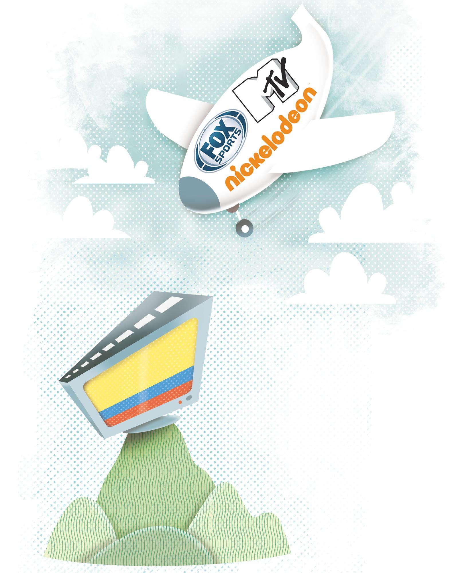 Colombia, potencia de la televisión en Latinoamérica