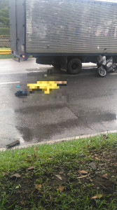Accidente en la avenida Regional, Medellín