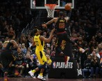 LeBron James, figura de la NBA. FOTO AFP