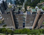 Edificio Continental Towers, en El Poblado. FOTO JUAN DAVID ÚSUGA