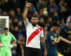 Video del gol de Pratto en el River- Boca de final de la Copa Libertadores