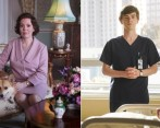 The Crown y The Good Doctor seguirán por varias temporadas más. FOTOS Cortesía Netflix y Sony Channel