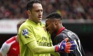 Ocho minutos magníficos, desde el 37 al 45 de la primera mitad, le bastaron este sábado al Arsenal para golear al Liverpool (4-1). FOTO REUTERS