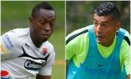 Juan F. Caicedo y Jéfferson Duque podrían ser titulares con sus respectivos equipos. FOTOS ARCHIVO