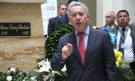 Senador del Centro Democrático, Álvaro Uribe Vélez. FOTO ARCHIVO-COLPRENSA.