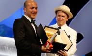 """La película """"La tierra y la sombra"""", del director colombiano César Augusto Acevedo, fue distinguida hoy con el premio Cámara de Oro como la mejor ópera prima en la 68 edición del Festival de Cannes. FOTO AFP"""