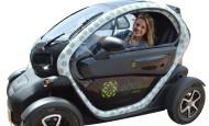Emma Arango fue la segunda persona natural en Antioquia que compró un carro eléctrico.