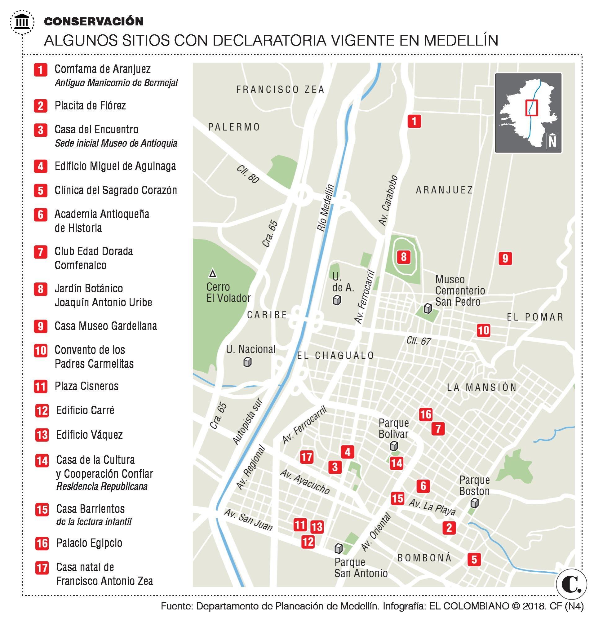 Patrimonio de Medellín se protege con beneficios tributarios