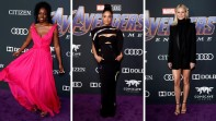 Danai Gurira, Tessa Thompson y Gwyneth Paltrow. FOTOS Efe