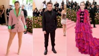 Ashley Graham, Richard Madden y Rachel Brosnahan. FOTOS AFP