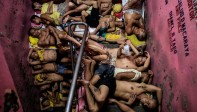 Las fotos muestran escenas de la cárcel de Quezon City, una de las prisiones más abarrotadas de Filipinas. Tercer lugar en noticias generales. Noel Celis, Agence France-Presse / Cortesía de World Press Photo Foundation