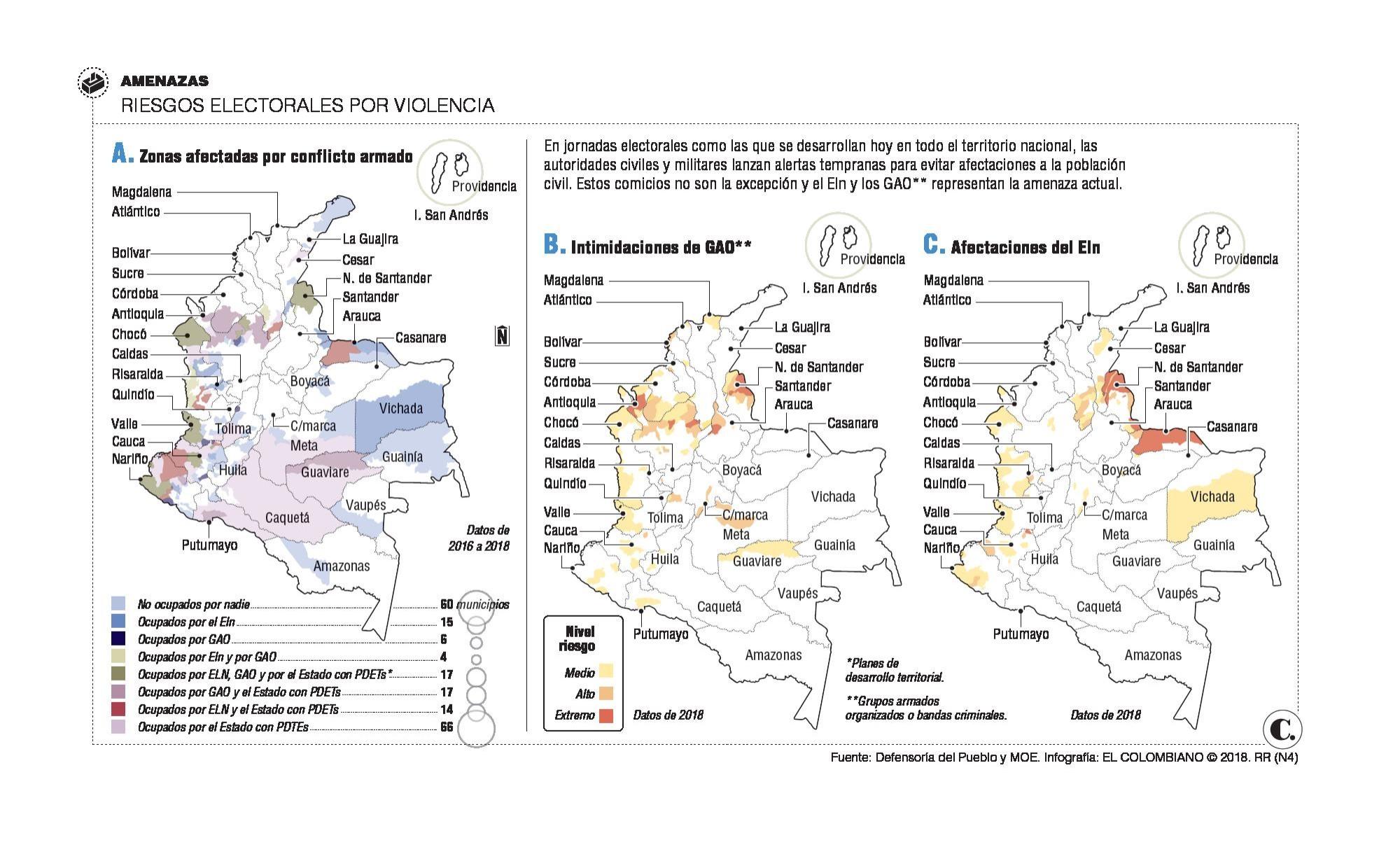Colombia vota sin <br />los fusiles de las Farc