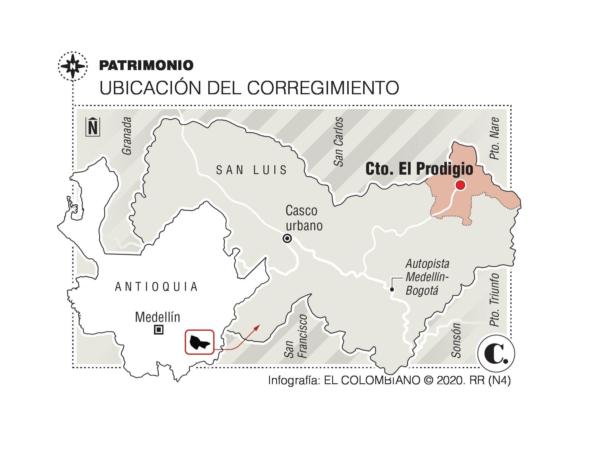 El Prodigio, el paraíso prehistórico de Antioquia