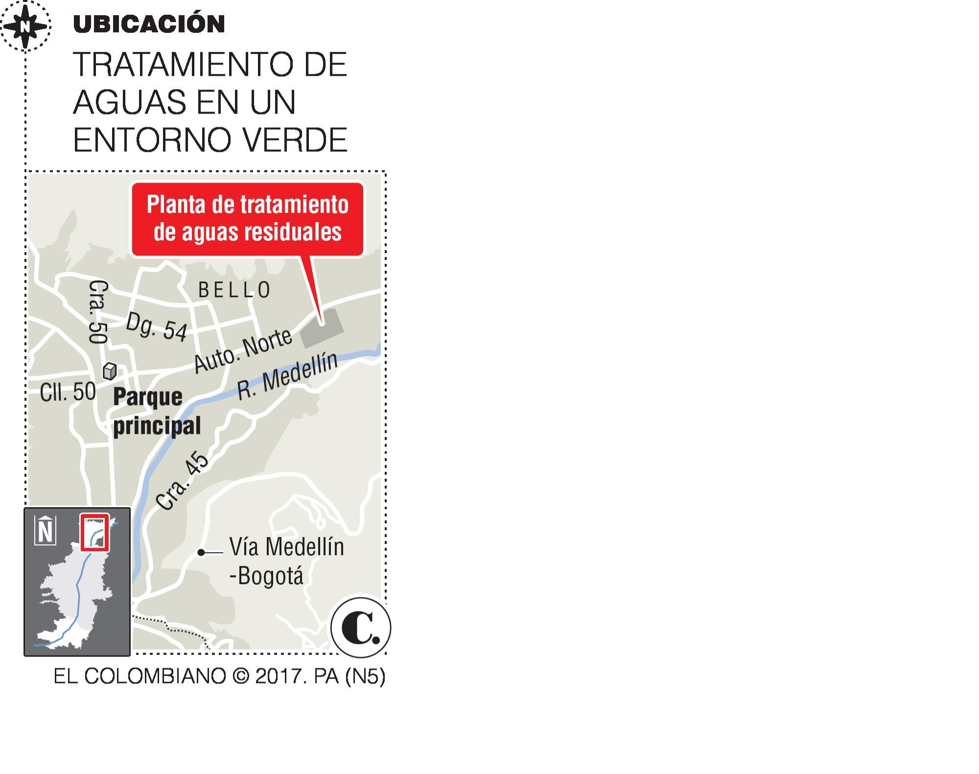 Obras en Planta Aguas Claras en Bello entró a controversia