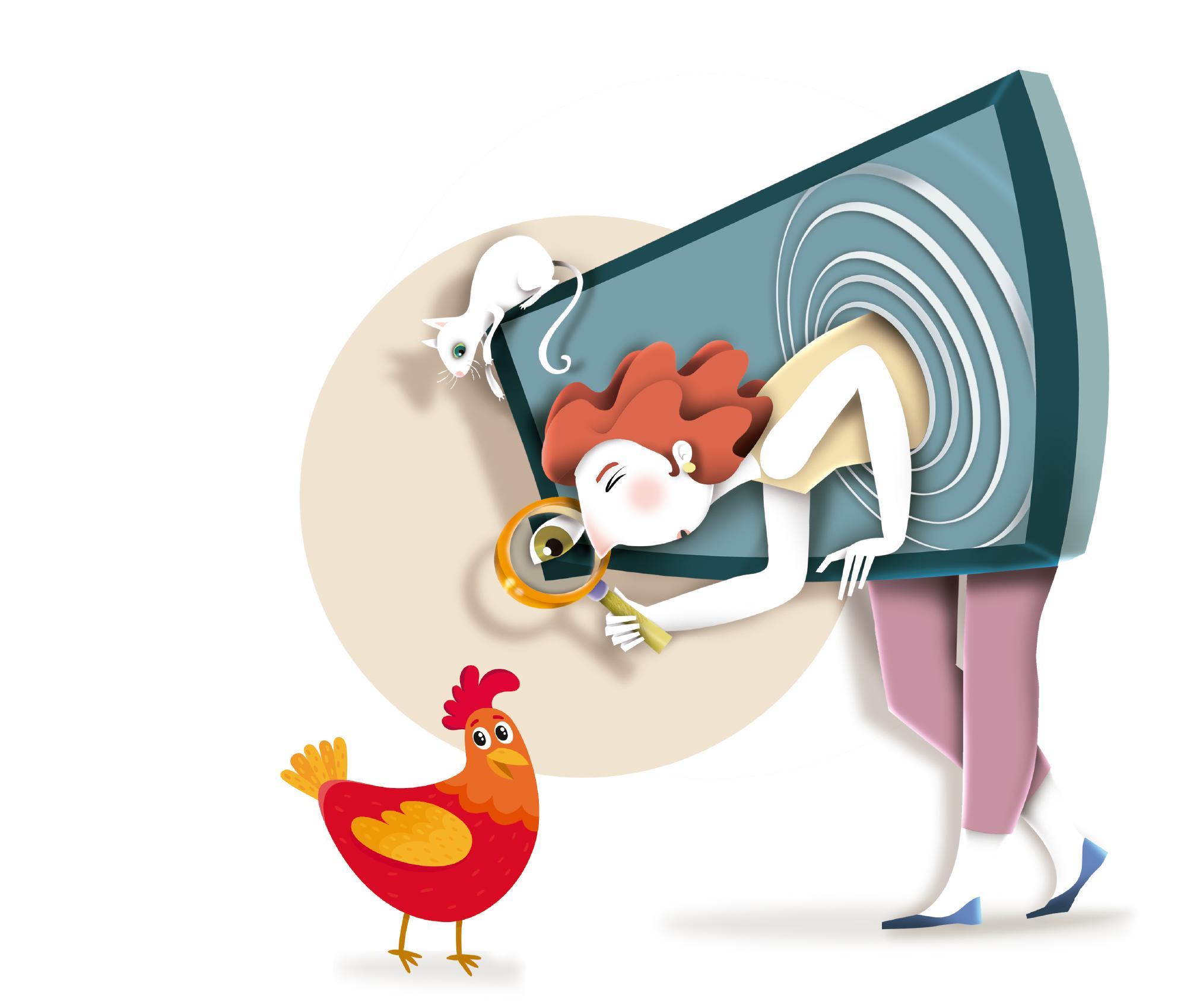 Avicultura e internet de los animales