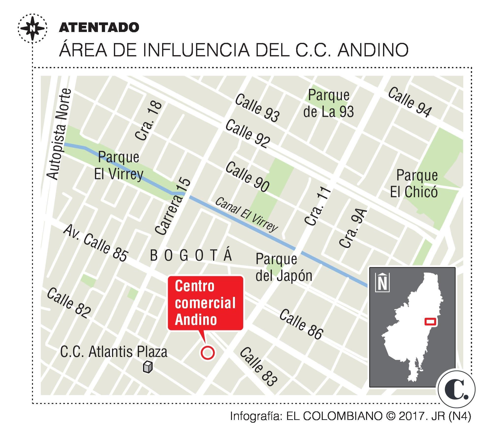El atentado en Bogotá, ¿con un mensaje cifrado?
