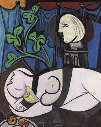 Desnudo, hojas verdes y busto, de Pablo Picasso. Fue vendido por 93 millones de euros el 4 de mayo de 2010, en Christie's, Nueva York. Es una pintura de 1932 en la que el español retrató a su amante Marie-Thérèse Walter.